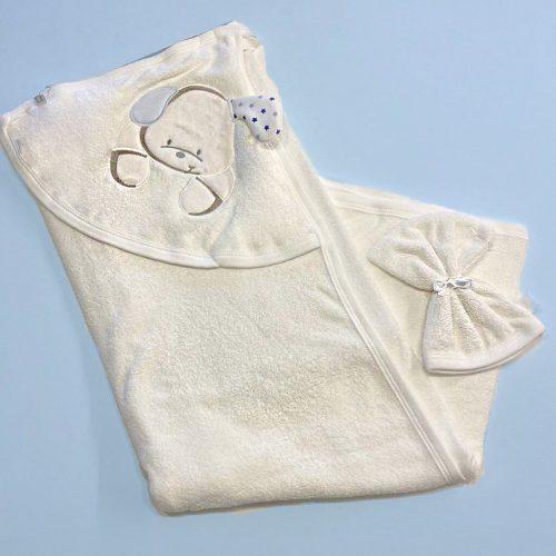 Puppy baby towel