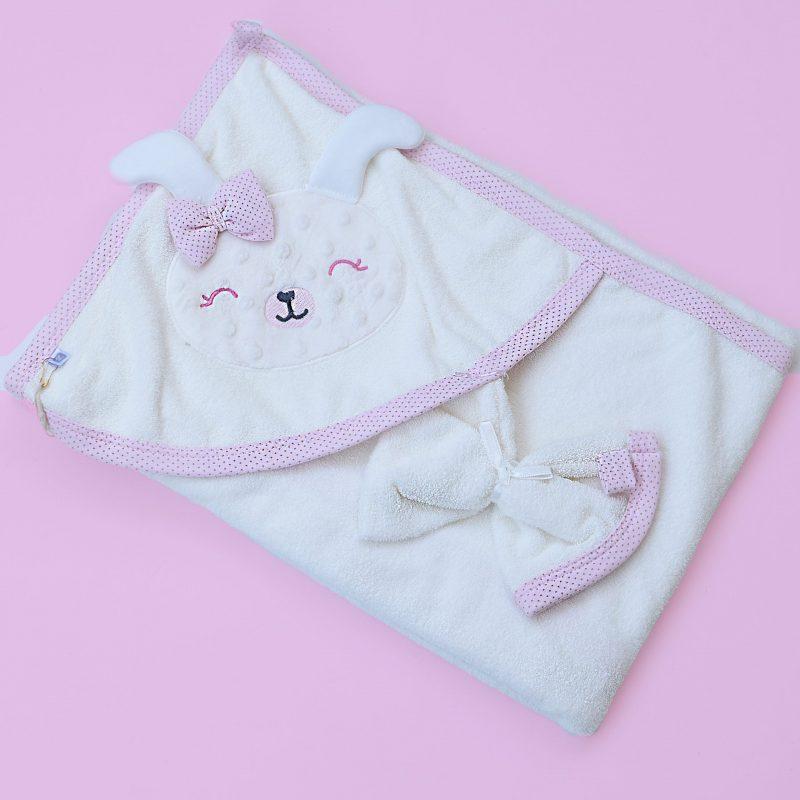 Bunny baby towel