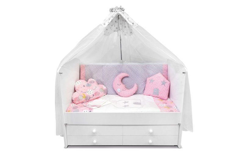 Baby Bedding set pink