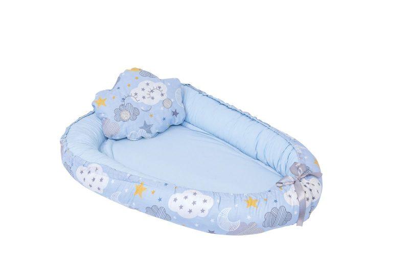 blue baby nest