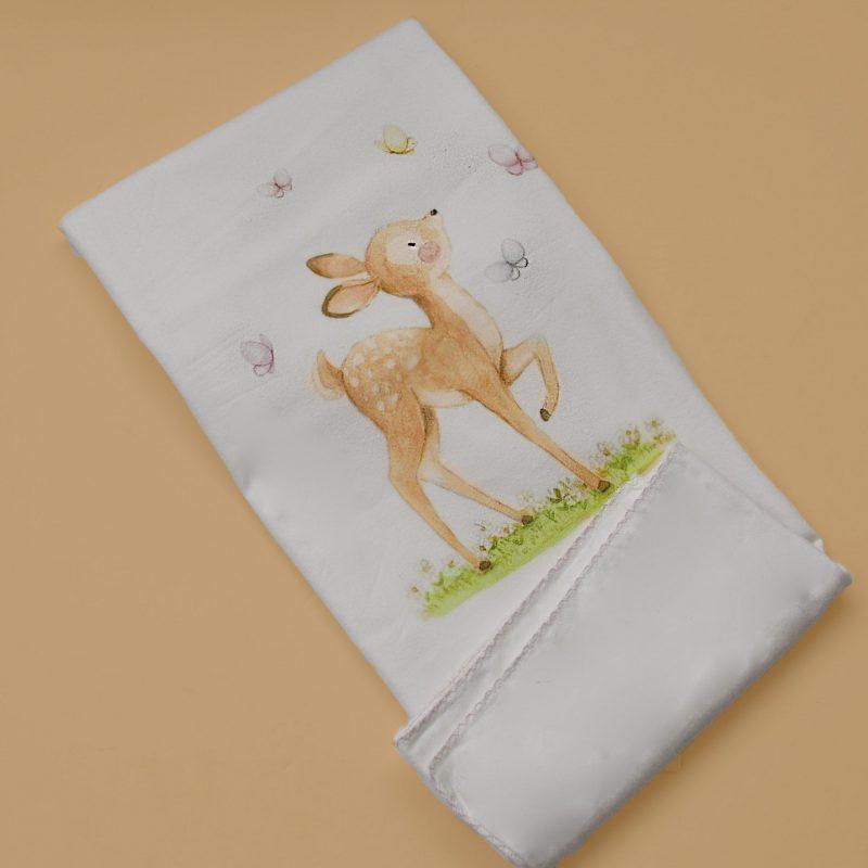 baby deer blanket