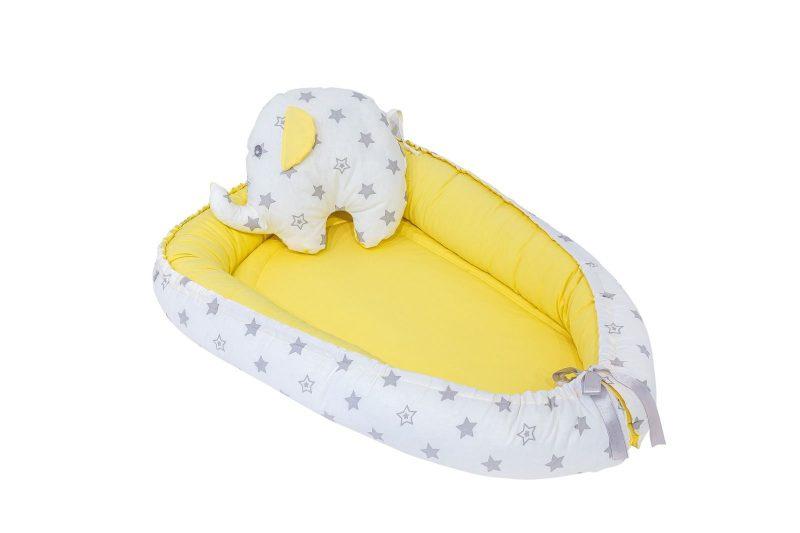yellow baby nest