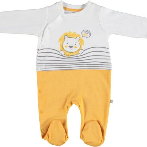 Lion cotton overall