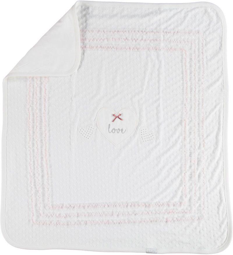 White Love blanket