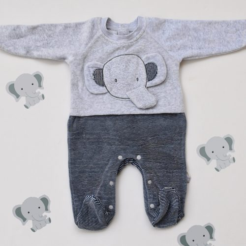 elephant baby overall