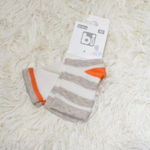 baby orange socks