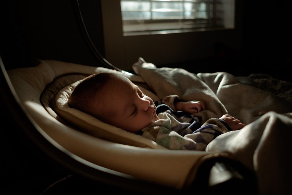 Dim the lights when your toddler sleeps.