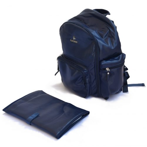 napy bag dark blue