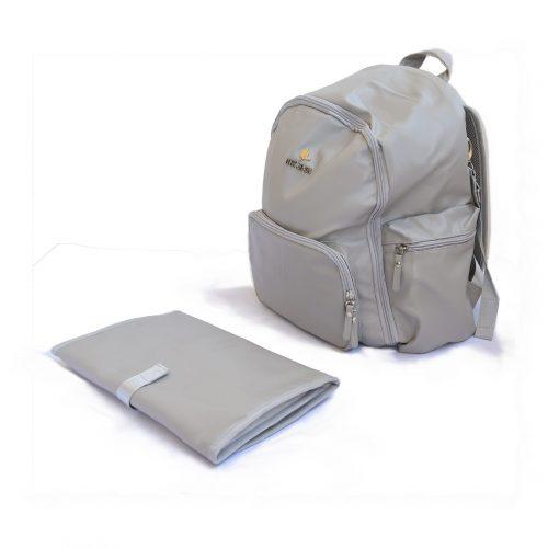 napy bag gray