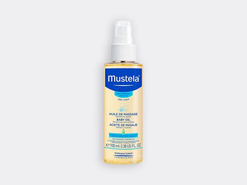 Mustela baby oil