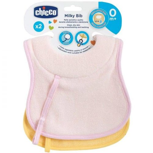chicco-cotton-bibs-pink