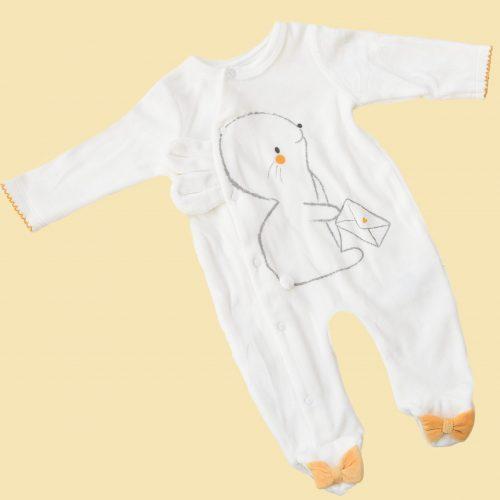 baby girl velvet overall