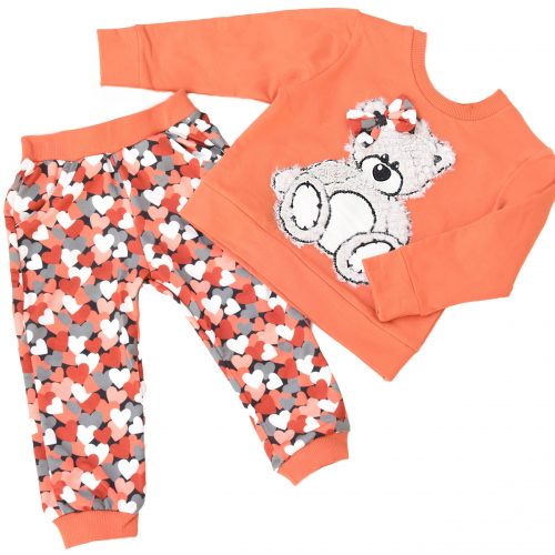 orange bear set