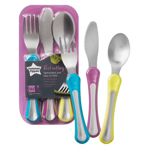 Tommee Tippee Explora 1st Grown Up Cutlery Set